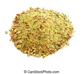 mixed dry seasoning parsley and pepper