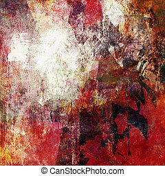 mixed media artwork