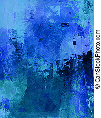 mixed media on canvas - hand painted background in different...