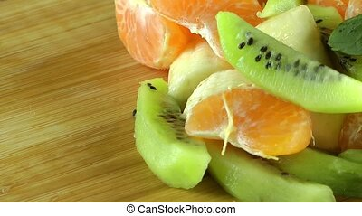 Mixed of Fresh Healthy Fruits