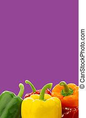 mixed paprika's (capsicum)