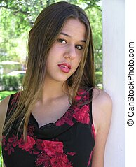 Mixed-Race Girl