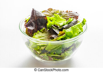 Mixed Salad in a Cup