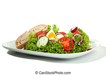 Mixed Salad Plate