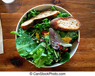 Mixed salad plate