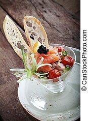 sea food starter