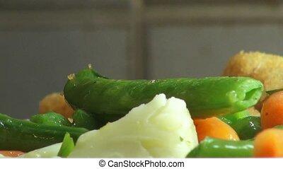 Mixed Vegetables, Veggies, Vegan, Foods