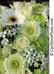 mixed white wedding flowers - Mixed white wedding flowers,...