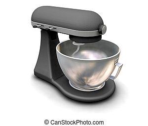 3D render of a kitchen mixer