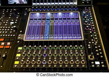 mixer, audio