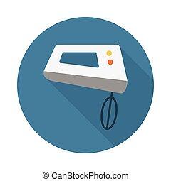 mixer flat icon