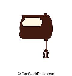 mixer icon. Bakery supply design. Vector graphic