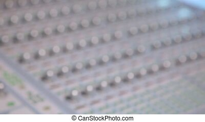 Mixing audio mixer Digidesign ICON console - Mixing console...