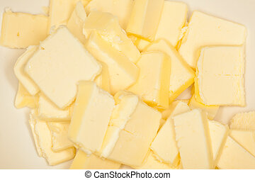 Mixing cheesecake