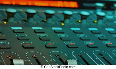 Mixing Music audio lifestyle Concept Studio. music,...