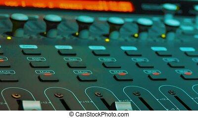 Mixing Music lifestyle audio Concept Studio. music,...