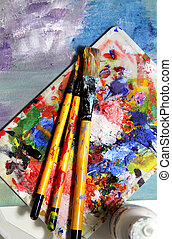 Mixing painting