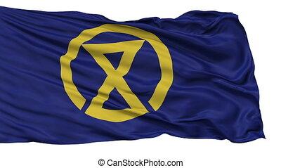 Miyazaki Capital City Isolated Flag - Miyazaki Capital City...