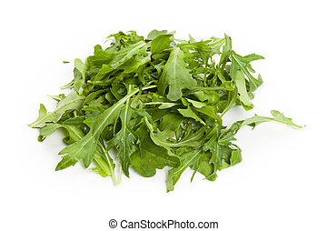 mizuna, salada