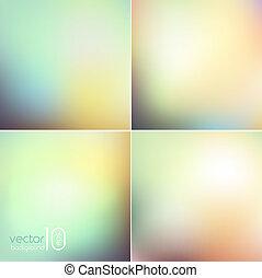 mjuk, färgad, abstrakt, bakgrund, för, design
