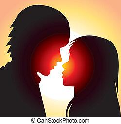 mladík, a, manželka