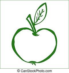 mladický jablko