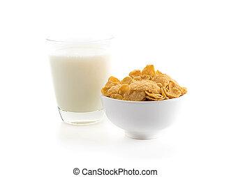 mleczny, zboże