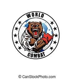 MMA fighter bear