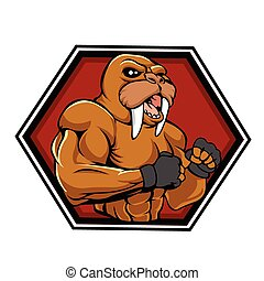 MMA fighter walrus