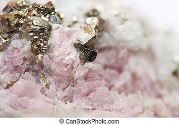 mnco3, pyrite, makro, rhodochrosite, fes2, eisen