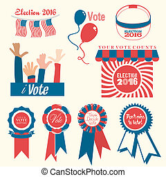 Mnemonics on Election 2016 - A collection of banners to...