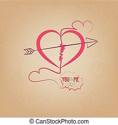 mnie, serce, ty, miłość