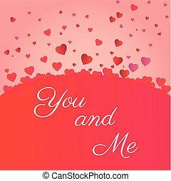 mnie, serce, valenties, ikony, ty, dzień