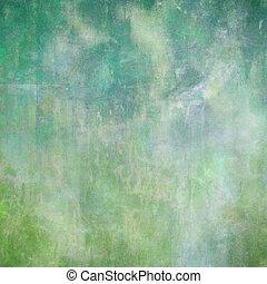 mořský, barva vodová, textured, abstraktní, grafické pozadí
