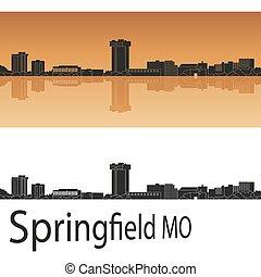 mo, orizzonte, springfield