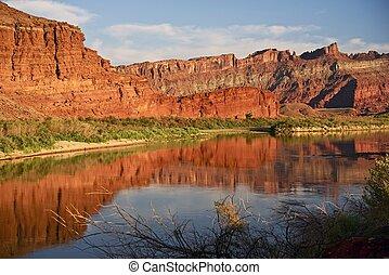 moab, utah, rio colorado