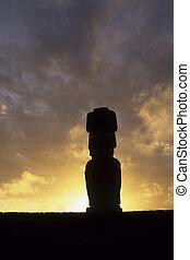 Moai- Easter Island, Chile