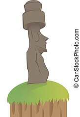 moai, -, isla de pascua