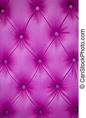mobília, upholstery couro, cor-de-rosa, vertical, fundo