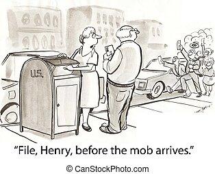 mob, datei