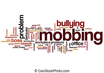 Mobbing word cloud