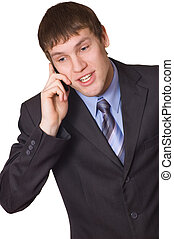mobiele telefoon, zakenmens