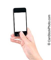 mobil, foto, tagande, ringa