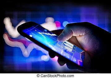 mobil, global affär