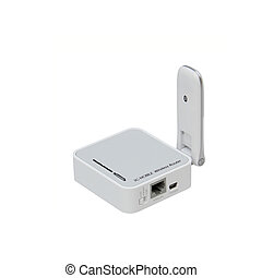 Mobile 3G, wireless USB router.