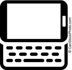 Mobile Accessories Icon. Flat Design.