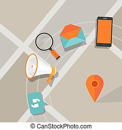 mobile ads advertising phone click digital local search
