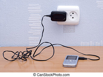 mobile and charge