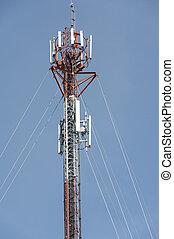 mobile, antenne, appareils