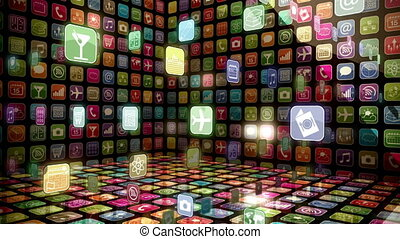 mobile, app, bacheca